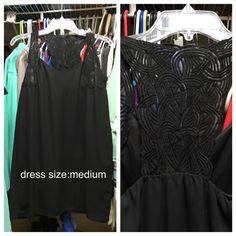 Black dress Boutique bought dress, size medium. Only worn a few times. Dresses Mini