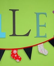 Con este Kit Guirnalda DIY de Navidad de Jan et Jul, podrás decorar tu casa en Navidad :-)