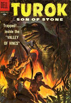 Of Dinosaurs | Turok Son of Stone #11, 1956.