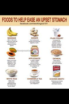 Upset stomach remedy