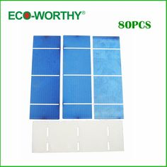 51.48$  Buy here  - 80pcs 16% efficiency 2x6 polycystalline solar cell 1.3w/pc DIY solar panel for home use ,free shipping