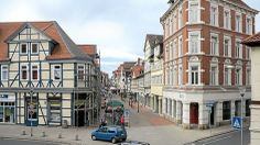 There are large pedestrian areas in Wolfenbüttel where you can go shopping and enjoy the lovely scenery.