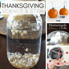 Our choices for Thanksgiving science and STEM activities are perfect for family time or Thanksgiving Day. Explore thankfulness while learning together.
