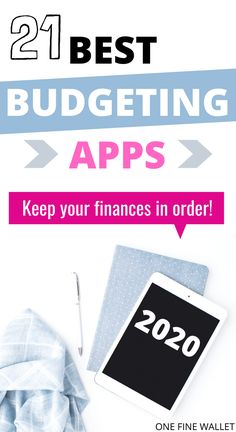 Best (Budget) Personal Finance Apps in 2020 : Best finance apps to help you manage your finances. Financial planning made easy with these 21 personal finance apps. Best Finance Apps, Best Budget Apps, Personal Finance App, Finance Tips, Financial Apps, Financial Planning App, Financial Success, Budget Planer, Budgeting
