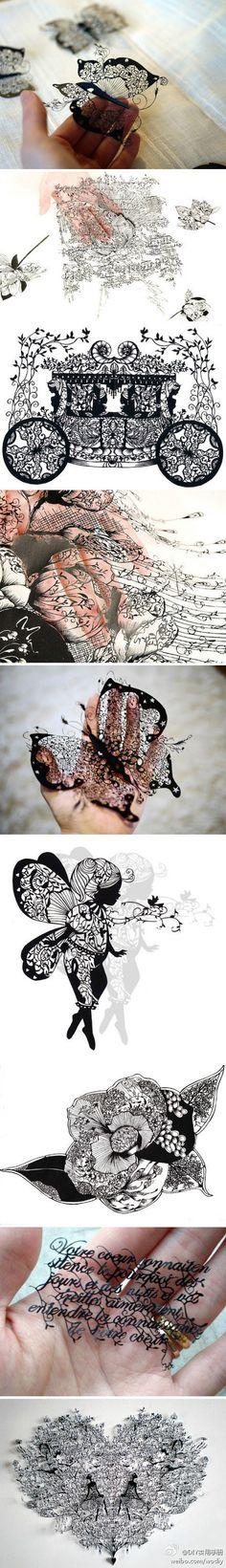 breathtaking paper-cut
