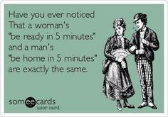 5 minutes....im going to have to show my husband this!