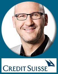 #Keynote-Speaker #CreditSuisse Managing Director, Digital Private Banking Holger Spielberg Private Banking, Keynote Speakers