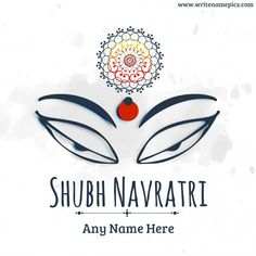 make a happy navratri wishes images with name. happy navratri photo editing online for free. happy navratri wishes images with name. durga puja wishes greetings card with name edit. best collection of happy navratri wishes card ph Navratri Wishes Images, Happy Navratri Wishes, Happy Navratri Images, Greeting Card Maker, Online Greeting Cards, Diwali Deepavali, Happy Dhanteras, Diwali Images, Indian Festivals