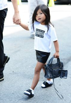 Fashion's Most Stylish Niece, Aila Wang.