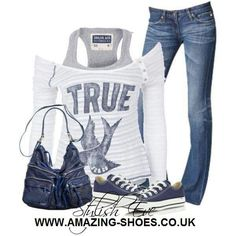 Comfy casual. I would wear this