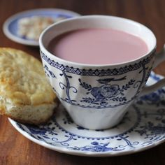 Kashmiri Chai nothing beats a cup of noon chai with roti