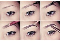How to Perfect Beautiful Eyebrows, Step by Step