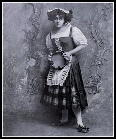 1907 Theatre - Mme. Alla Nazimova as Nora in Ibsen's 'Doll's House' | Flickr - Photo Sharing!