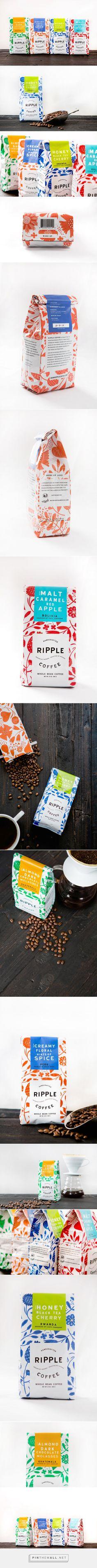 Ripple Coffee on Behance - created via https://pinthemall.net