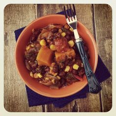 Healthy Girl's Kitchen: The Eat to Live Cookbook: Black Bean and Butternut Squash Chili