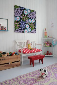 Playroom Ideas Design, Pictures, Remodel, Decor and Ideas - page 39, so bright and cheery