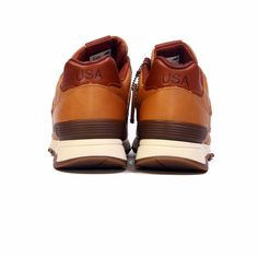New Balance M1400BH Made in USA Horween Leather Bespoke Tan Brown Men's Shoes | eBay