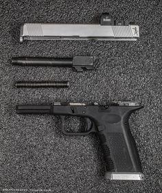 Lone Wolf Glock 15 with Burris Fastfire slide melt.