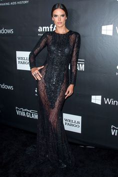 On the Red Carpet at the 2014 amfAR Gala in LA - Red Carpet Style