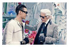 G-Dragon & Karl Lagerfeld