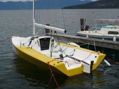 An i550 built by Jon Raymond of Polson, Montana, homeport for Critical Twist is Dayton, Montana on Flathead Lake. The i550 is a Stitch and Glue Sport Boat designed with simplicity as a goal.