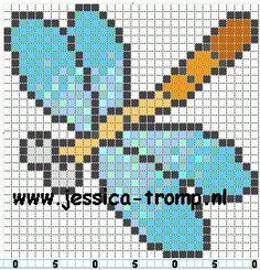 """Résultat de recherche d'images pour """"libellule en pixel art"""""""