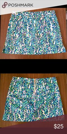 Lilly Pulitzer skirt (skort) Never worn and looks brand new!! No trades :) Lilly Pulitzer Skirts Mini