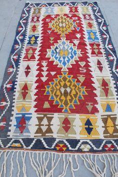 Turkish Kilim Rug Handmade Kilim Rug Anatolian Kilim Rug