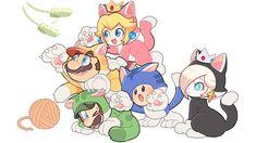 Super Mario Games, New Super Mario Bros, Super Mario Brothers, Super Smash Bros, Mario Kart, Mario And Luigi, Nintendo Game, Mario Fan Art, Paper Mario