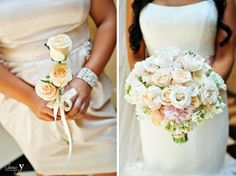 Mandalay Bay and House of Blues Las Vegas Wedding by Jamie Y Photography. Flower Bouquets.