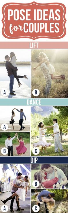 Fun Pose Ideas for Couples