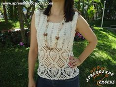 Blusa Gris Plata tejida Vertical Fácil, Bonita y Rápido a crochet - YouTube