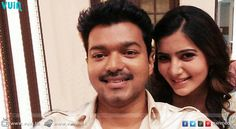 Samantha hints about acting with Vijay!