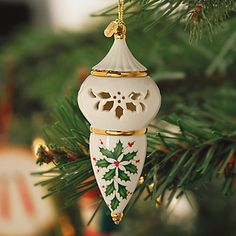 2011 Pierced Ornament from Lenox Christmas Collection....