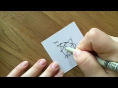 Zentangle® Muster: Tink - YouTube