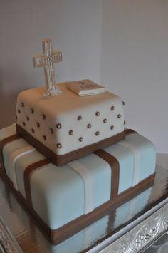 Boy's Communion Cake