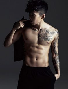 Jay Park 's shirtless pictures will instantly make your day better. Jay Park is sexy. Jay Park, Park Jaebeom, Sexy Asian Men, Sexy Men, Asian Guys, Jaebum, Korean Celebrities, Korean Actors, Parc Jay