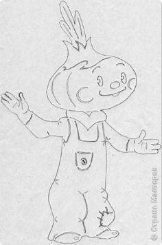 Картина панно рисунок Вырезание Чиполлино Бумага фото 2