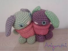 Ravelry: Marriage Equality Bunnies (free) pattern by Ruth Jepson. FREE PATTERN 5/14.