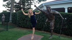 Payne Stewart's daughter, Chelsea Stewart, gives us the photo of the week from Pinehurst