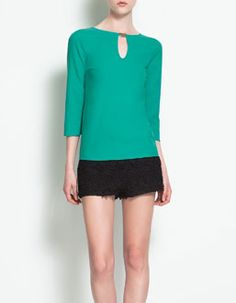 Just bought these shorts from Zara.  Can't wait to wear them!