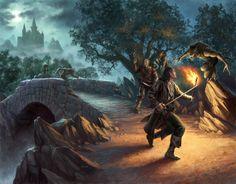 The Art of Dan Scott - Dungeons and Dragons Art