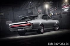 MONARO GTS Australian Muscle Cars, Aussie Muscle Cars, Old Muscle Cars, Vintage Bicycles, Vintage Motorcycles, Cars And Motorcycles, Man Cave Gear, Car Man Cave, Vintage Cars