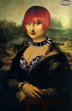 Joconde Mona Lisa la gothique. Mona Lisa More Pins Like This At FOSTERGINGER @ Pinterest 