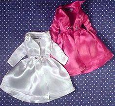 Vintage Barbie Fashion Pak Satin Coat (1963); I have this in light pink glitter