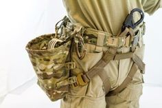 Military Issue Tactical Rope Harness made by CTOMS who make an awesome combat belt which is what this harness connects to make the complete system. Military Gear, Military Equipment, Military Issue, Tactical Survival, Survival Gear, Battle Belt, Army Gears, Rock Climbing Gear, Airsoft Gear
