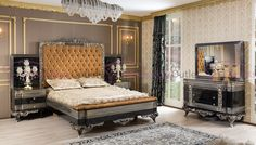 Buy Luxury Dico beds online in Karchi Pakistan Types Of Furniture, Bedroom Furniture Sets, Bed Furniture, Luxury Furniture, Furniture Design, Bedroom Bed Design, Bedroom Decor, New Bed Designs, Royal Bedroom