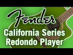New for Fender has finally released their highly anticipated acoustic line, the California Series. Fender Acoustic Guitar, California, Youtube, Youtubers, Youtube Movies
