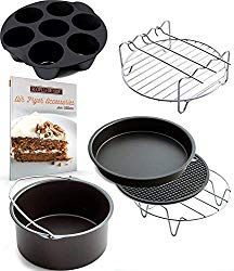 online shopping for Air Fryer Accessories Gowise Phillips Cozyna, Deluxe Set Fit from top store. See new offer for Air Fryer Accessories Gowise Phillips Cozyna, Deluxe Set Fit Oven Recipes, Air Fryer Recipes, Dinner Recipes, Healthy Recipes, Power Air Fryer Xl, Philips Air Fryer, Air Fryer Steak, Air Fryer Chicken Tenders, Best Air Fryers