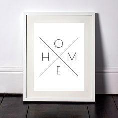 Black and White Home Print, Wall Prints, Printable Wall Art, Home Print, Downloadable Wall Prints, Home Art, Home Print, Home Digital Art